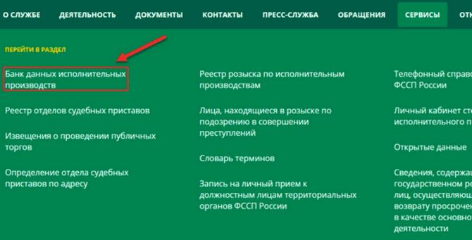 Инструкция по получению информации об алиментной задолженности на сайте ФССП